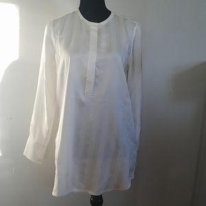 Equipment Femme Chevron Print Silk Blouse